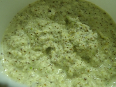 Coconut Mustard Paste